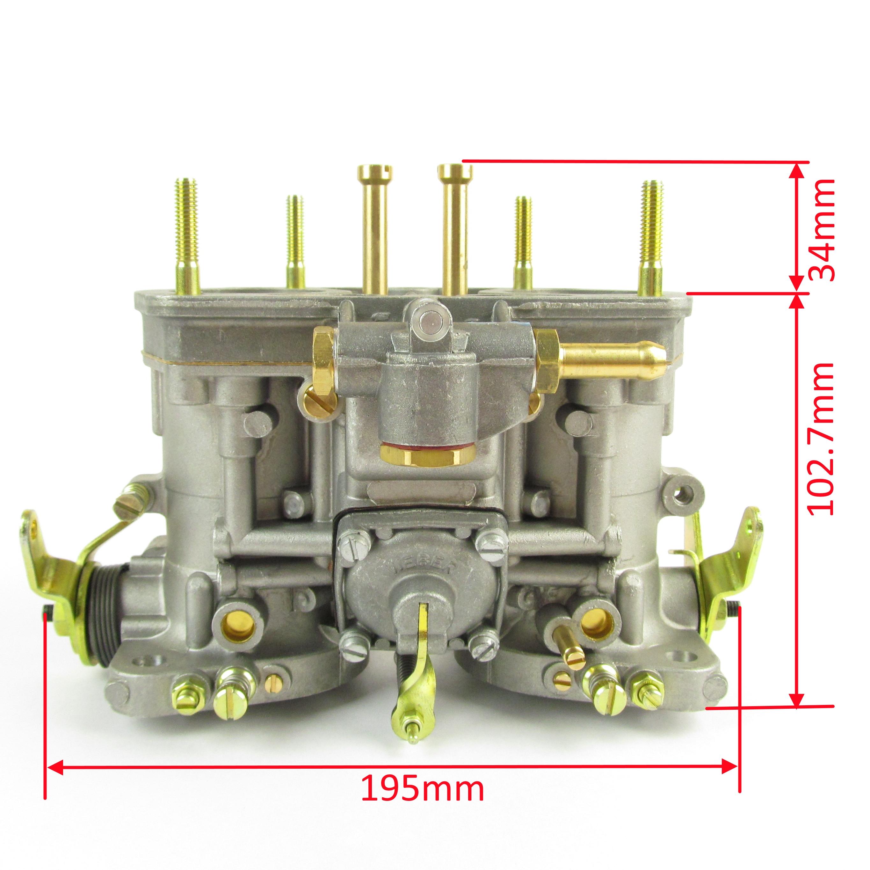 18950 161 Weber Idf 40 Carburettor Without Starter