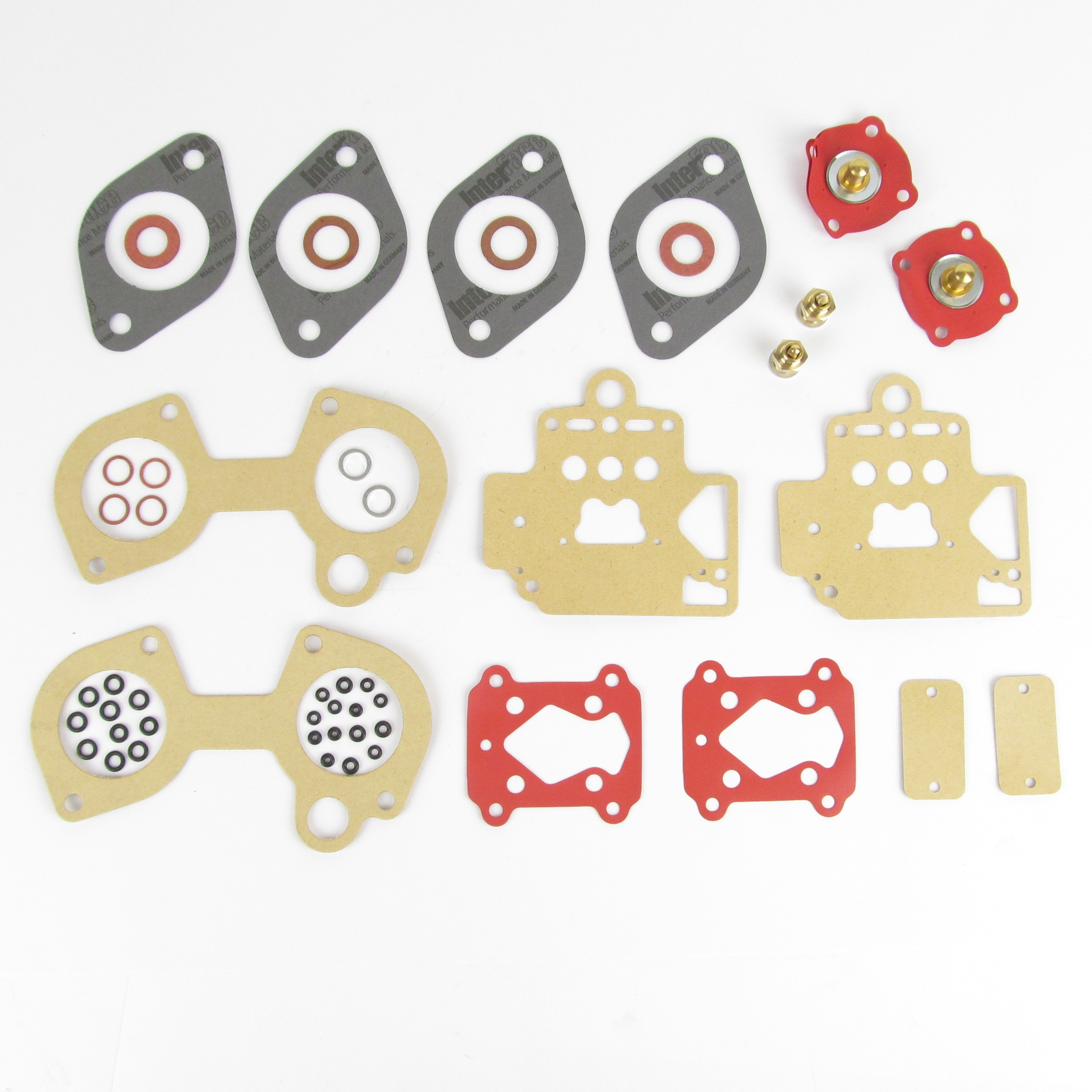 DHLA 40 budget service kit for two carbs