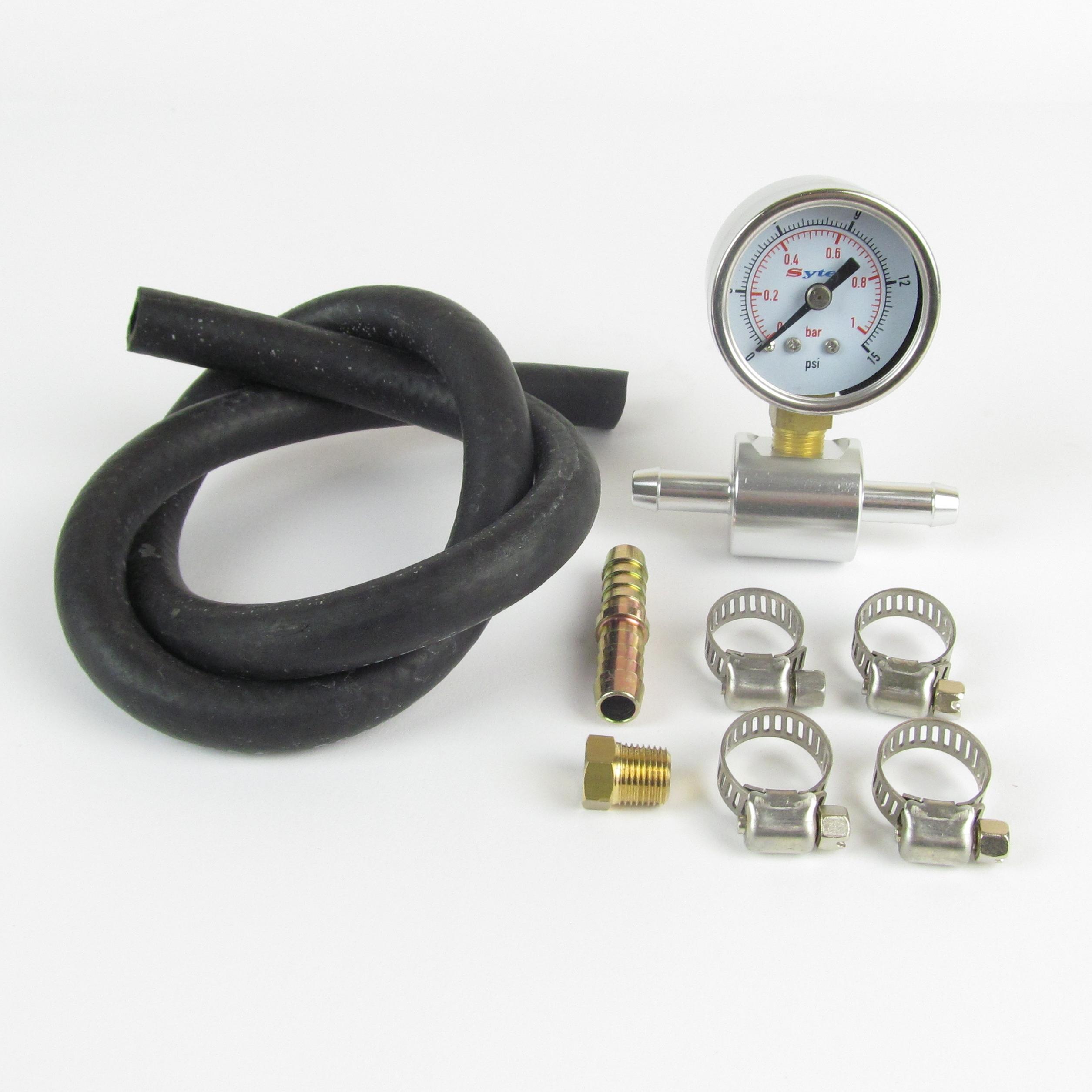 FUELGAUGEKIT in line fuel pressure gauge kit eurocarb