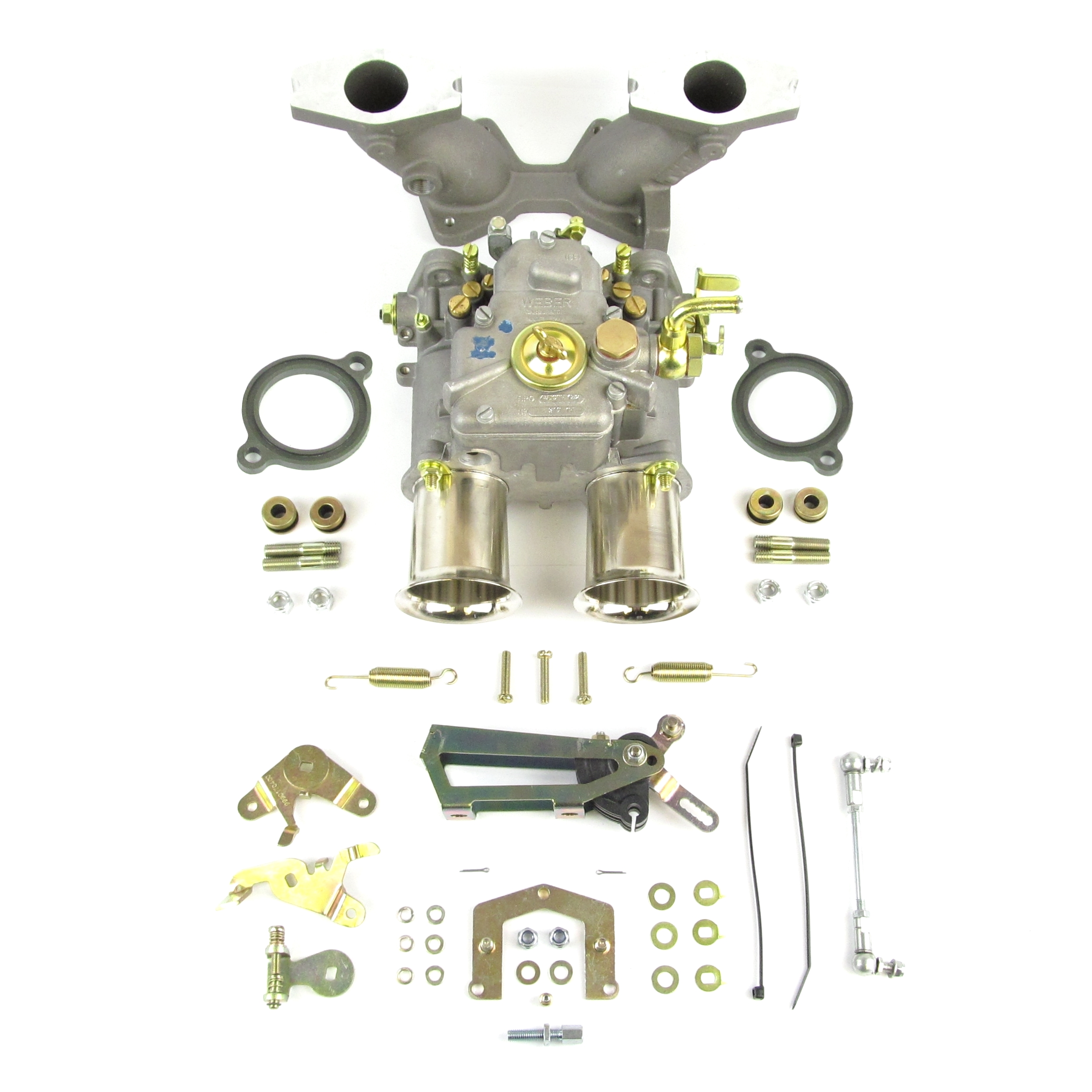 PMG102 Weber 45DCOE carburettor kit with manifold - MGB 1800 B series