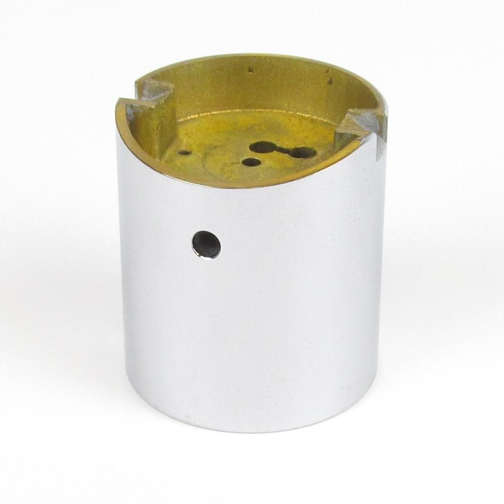 10949 Dellorto PHBE Chromed brass slide